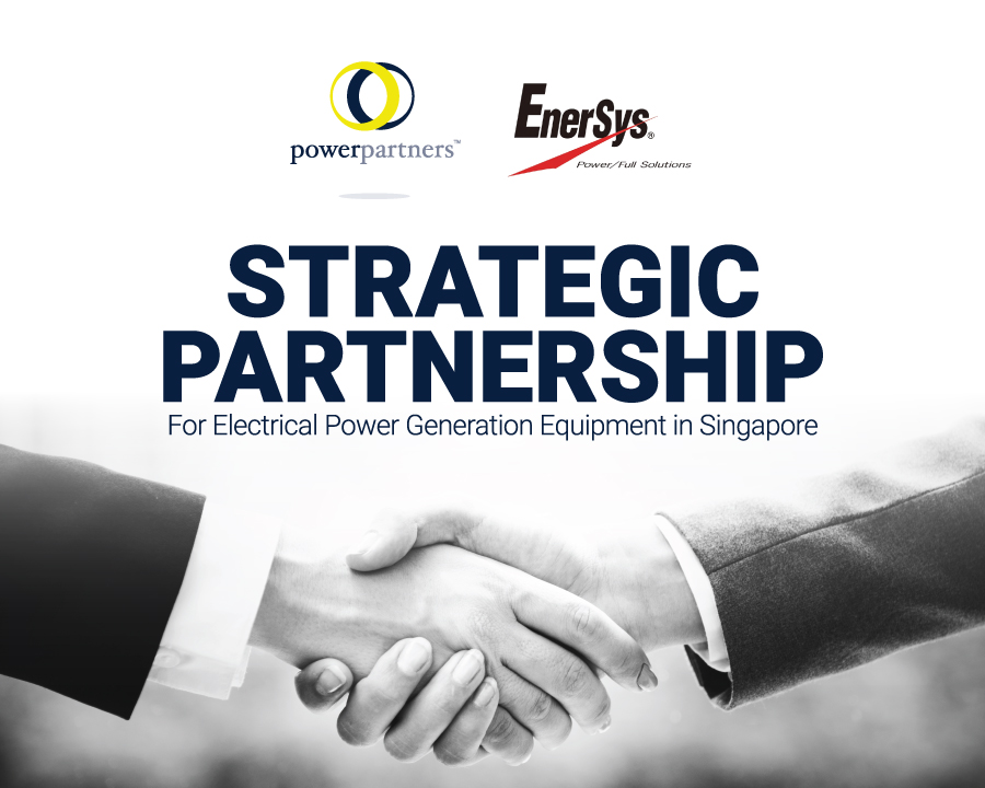 Power Partners Strategic Partnership with Enersys Reserve Power