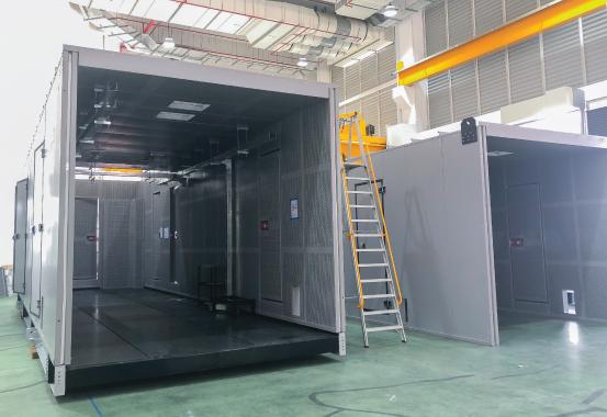 Modular Enclosure Photo