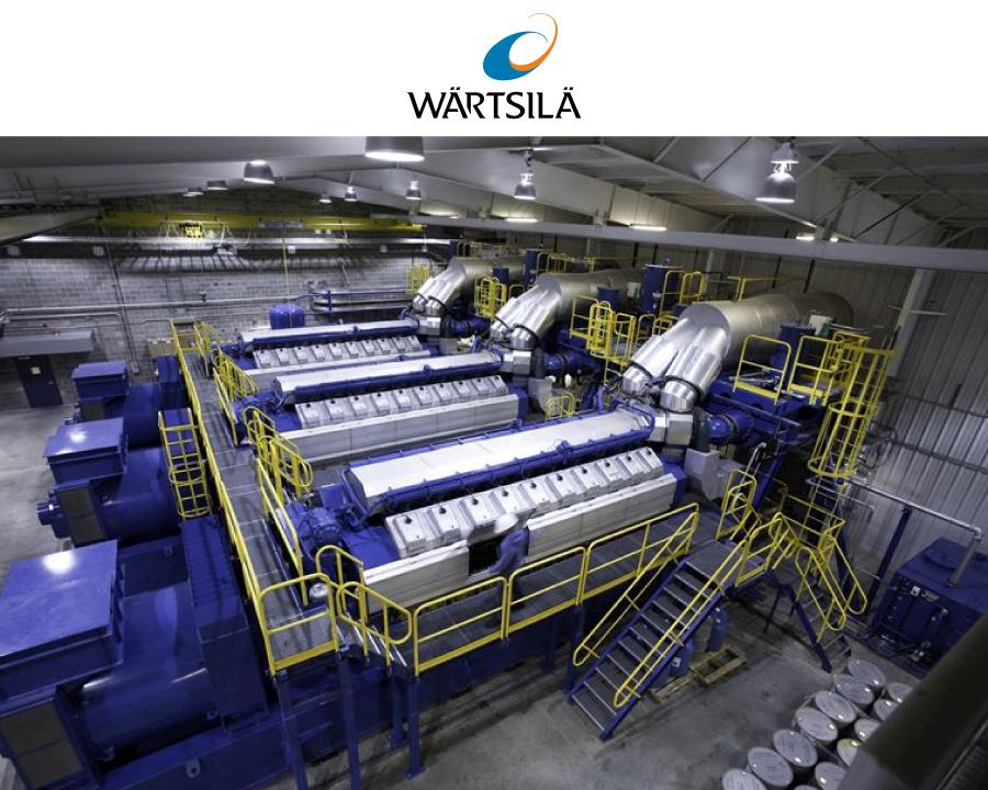 Photo of Wärtsilä power plant